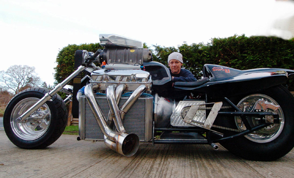 rapom v8 mopar engine ice racing drag 1200 horse power fuel dragbike