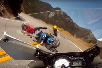 frontal-motorcycle-crash